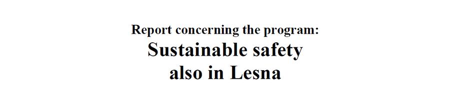 Rapport Duurzaam Veilig